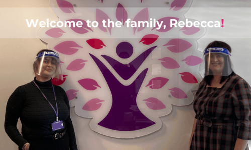 Welcome to the family, Rebecca!